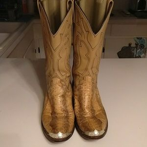 Dan Post Palomino Snakeskin Boot